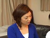 Japanese wife enjoys riding a stiff rod picture 13