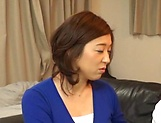 Japanese wife enjoys riding a stiff rod picture 14