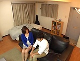 Japanese wife enjoys riding a stiff rod picture 7