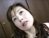 Hot Japanese AV Model is a MILF getting fucked hard and creamed