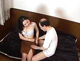 Mature Japanese AV Model  gets her hairy pussy creamed picture 11