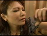 Horny Japanese AV Model gets her milf pussy fucked hard