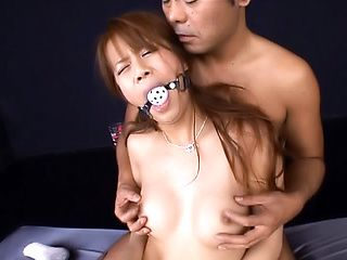 Strong hardcore fuck show with a nasty Asian milf, Yume Ayaka