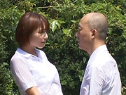 Hotaka Yuka and friend in wild outdoor fucking