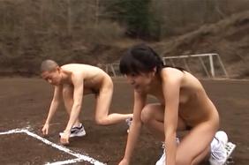 Hot sporty Asia  girl Nana Nanaumi rides cock on the playgroundbig tits boobs, big tits porn