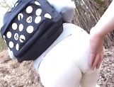 Beautiful outdoor POV sex scenes with Ayako Kirishima picture 1