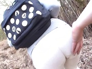 Stunning outdoor POV sex by Kirishima Ayako