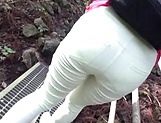 Up-skirt view of cute Asian queen Takashima Heki picture 11