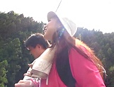 Up-skirt view of cute Asian queen Takashima Heki picture 3