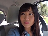 Sweet outdoor blowjob with Hibiki Ohtsuki picture 11