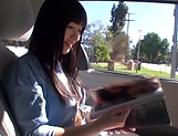 Sweet outdoor blowjob with Hibiki Ohtsuki picture 13