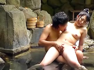 Pretty girl devours a dude with her kinky skills.