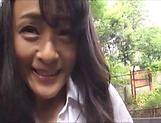 Foxy Ririko Hibiki gets kinky solo picture 14