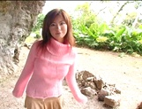 Busty Asian milf Aki Katase gets fucked in superb outdoor session picture 2