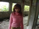 Busty Asian milf Aki Katase gets fucked in superb outdoor session picture 5