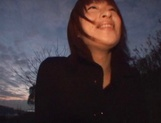 Late night POV hardcore with Asian amateur Akane Mochida picture 11