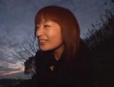 Late night POV hardcore with Asian amateur Akane Mochida picture 13
