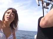Incredible Ayu Sakurai gives amazing head