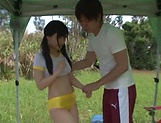 Kitano Nozomi gets nailed superbly outdoors picture 10