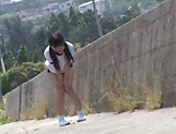 Kitano Nozomi gets nailed superbly outdoors picture 3