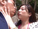Kinky Mizuka Hayakawa has her boobs fucked picture 10