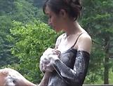 Cute Ririko Hibiko in lingerie fucked hard picture 11
