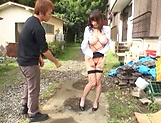 Riko Nakayama enjoys getting screwed well