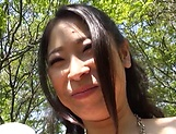 Ayase Minami enjoys some wild outdoor session