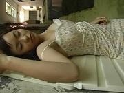 Amateur Asian Hiraru Koto blows tasty dong in pure POV scenes