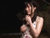 Kitano Nozomi gives some wild blowjob picture 11