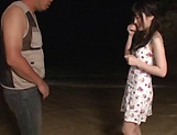 Kitano Nozomi gives some wild blowjob picture 5