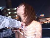 Cum on face for dazzling Asian milf Akane Mochida
