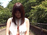 Nishikawa Rion getting fucked really good outdoors