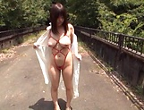 Nishikawa Rion getting fucked really good outdoors picture 7