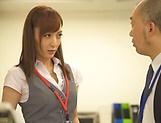Beautiful Fuyutsuki Kaede gets a hardcore bang picture 11