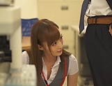 Beautiful Fuyutsuki Kaede gets a hardcore bang picture 13