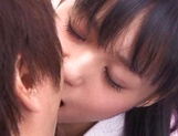 Aino Kishi Asian office lady gives some desktop sex for boss picture 15
