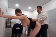 Naughty Japanese mature chick with big ass fucked under a tablehuge boobs, big round tits, big boobs