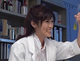 Kinky Sara Yurikawa enjoys being nailed
