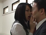 Sexy Asian beauty gets rammed awesomely picture 11