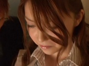 Lovely Kurumi moans when penetrated deep