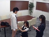 Stunning Japanese office lady fucked hard picture 15