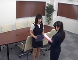 Stunning Japanese office lady fucked hard picture 5
