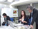Mukai Ren gets rammed really good in office picture 5