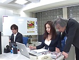 Mukai Ren gets rammed really good in office picture 6