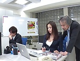 Mukai Ren gets rammed really good in office picture 8