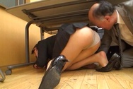 Pretty office lady in a sexy costume fucked by her ugly bossjapanese boobs, sex tits