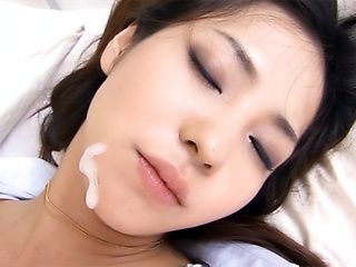 Japanese AV model is an office lady hardcore sex combined with blowjob
