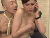 Mature Yurie Matsushima enjoying a big tasty dick picture 12