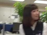 Haruka Miura endures rough sex in group at work